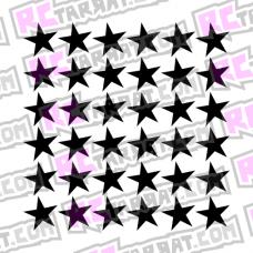 Tähtikuvioarkki, isot tähdet