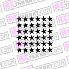 Tähtikuvioarkki, pienet tähdet